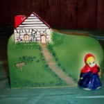 Little Red Riding Hood Plaque - 1995 HPA Commemorative